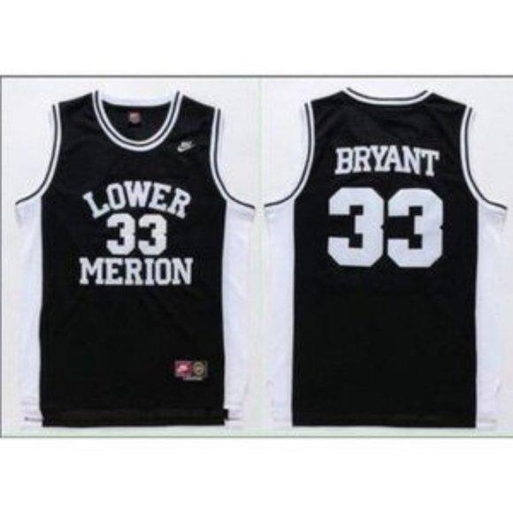 Shirts | Lower Merion Kobe Bryant High School Black Jersey | Poshmark